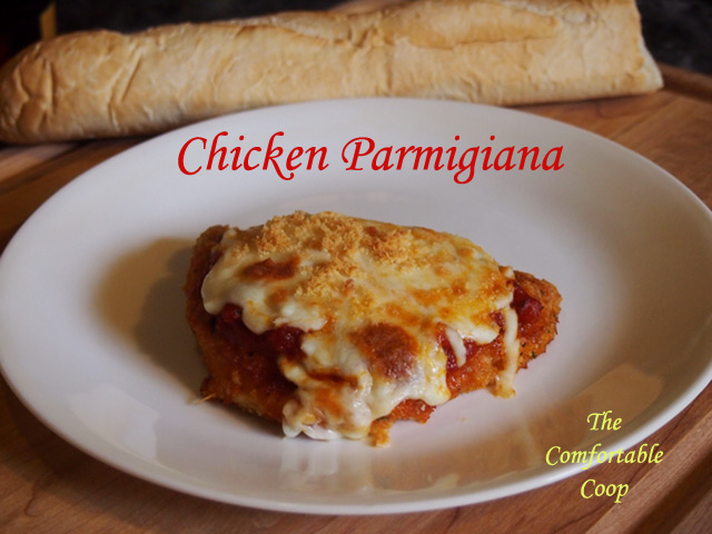 Chicken-Parmigiana