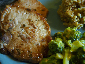 Brown Sugar Dijon Pork Chops